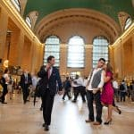 elopement photography at grand central terminal