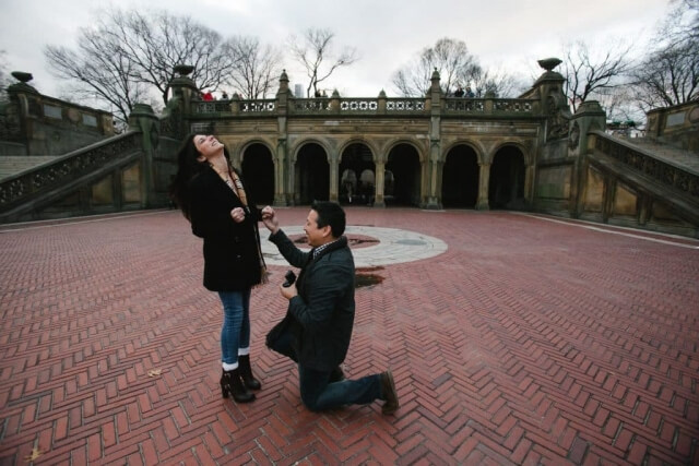 NYC Proposal Photography