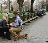 nyc elopement photography in central park