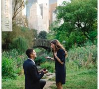 marriage proposal photographer nyc in central park